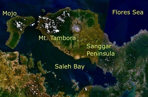 Gunung Tambora Meletus = Napoleon Kalah Perang [ www.Up2Det.com ]