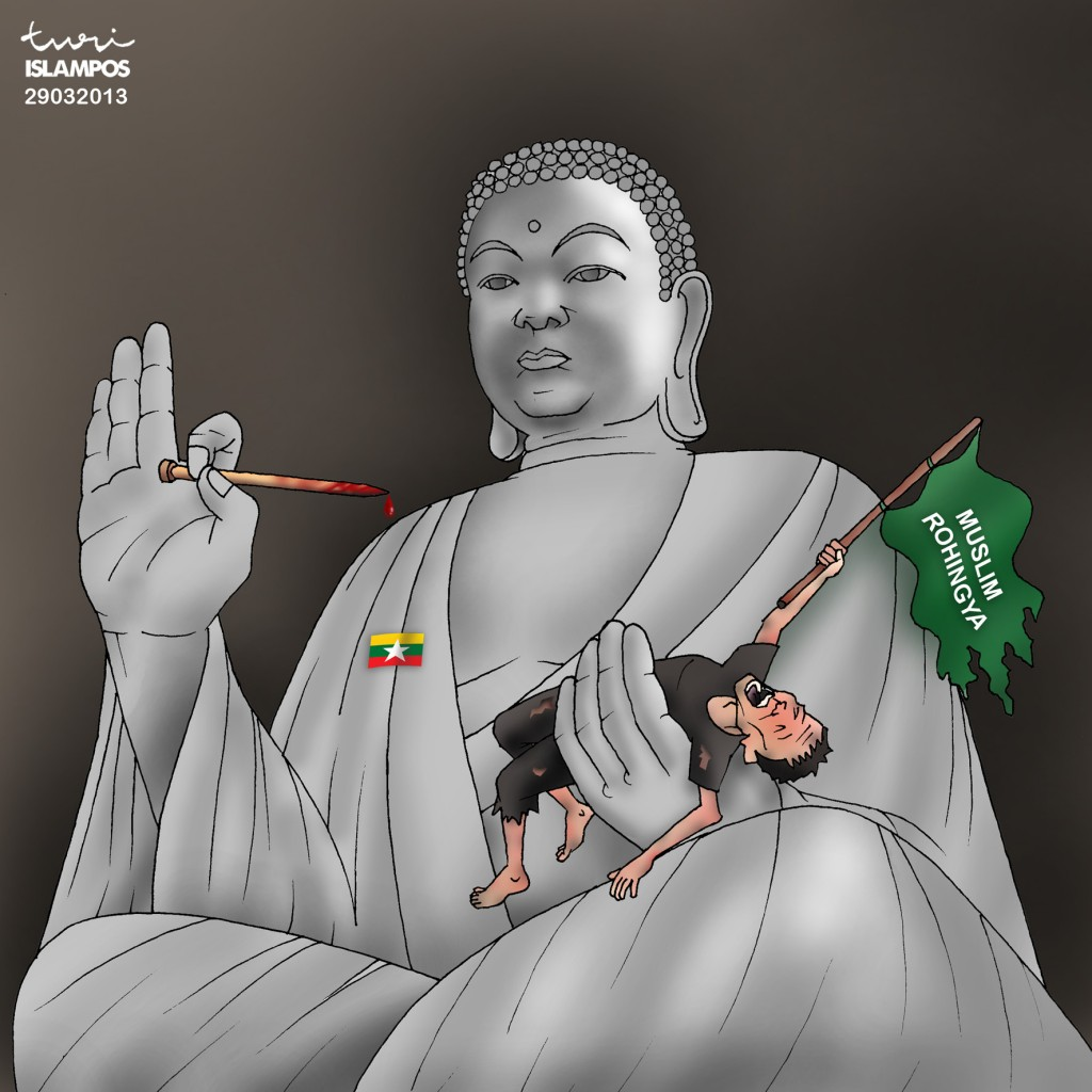 SAVE ROHINGYA MUSLIM FROM BUDDHA